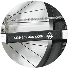 SKS Kettenstrebenschutz schwarz